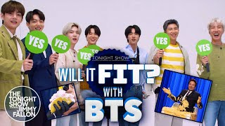 Will It Fit With Bts The Tonight Show Starring Jimmy Fallon MP3