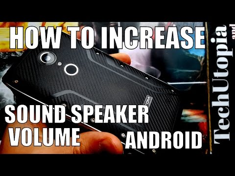 How to increase sound speaker volume in smartphones Android(Engineer mode/Homtom HT20)+Microphone