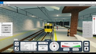 Roblox terminal railways | More Queensland Rail EMU gameplay