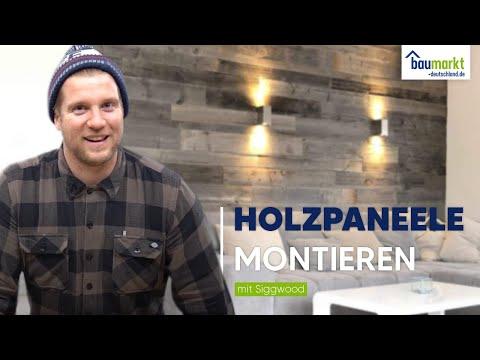 Holz Paneele | Wandverkleidung Holz | montieren. Wir zeigen wie es geht mit Holzpaneelen von Nordje