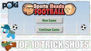 Top 10 Sports Heads Football Trick Shots!