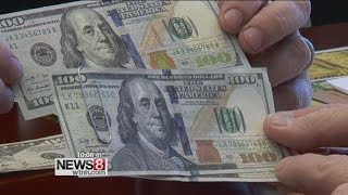 Protecting yourself from counterfeit bills