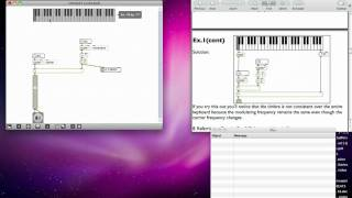 Max MSP Tutorial 06a2: Amplitude Modulation [1]