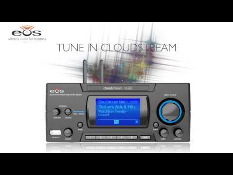 Wireless In-Store Cloud Business Music Service