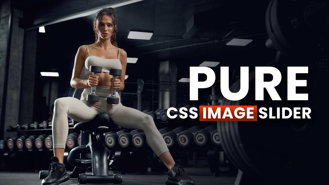Pure CSS Responsive Image Slider - CSS Image Slider