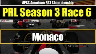 F1 2013 | Online League Race | PRL APSC Season3 Race6 Monaco