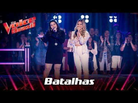 Giulia Santana e Rafaela Porto cantam Zero a Dez nas Batalhas - The Voice Brasil  7ª Temporada