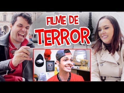 REACT - O DIA QUE ASSISTI FILME DE TERROR (Caracol Raivoso)