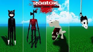 Roblox : Trevor Horror Stories #1 เรื่องเล่าสยองขวัญของ Trevor (Siren Head, แมวการ์ตูน, หนอนสะพาน)