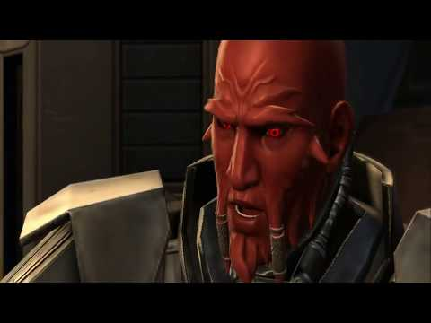 Chatting with Lord Scourge (Star Wars: Old Republic)