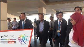 شاهد.. زيارة مجدى يعقوب لمهرجان مدينة زويل للعلوم والتكنولوجيا