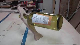 Making Some Wine Bottle Holders