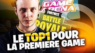 LE TOP 1 DE SOLARY POUR LA PREMIERE GAME - GAME ARENA - PHASE DE POULE