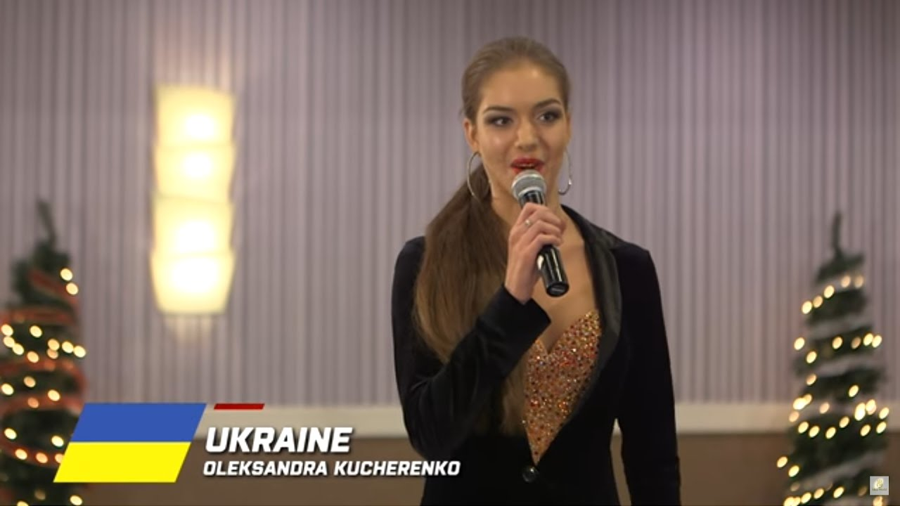 Ukraine, Oleksandra Kucherenko - Top 10 Talent: Miss World 2016