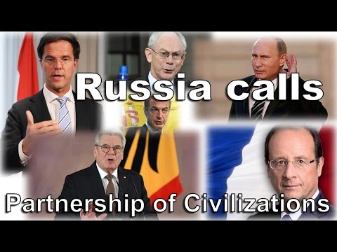 """Russia calls for """"Partnership of Civilizations"""" in Europe"""