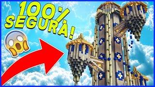 LA TORRE MAS SEGURA DE MINECRAFT 😱💎 100% SEGURA!!!