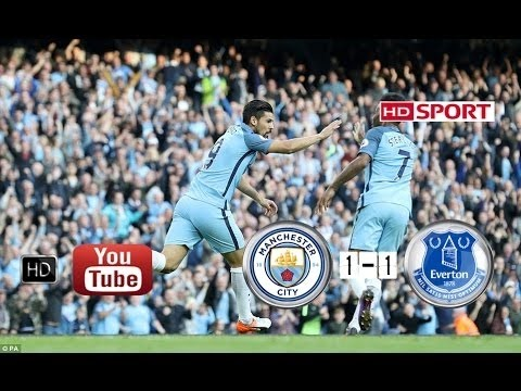 Download Manchester City vs Everton 1 1 All Goals HD   EPL 15/10/2016