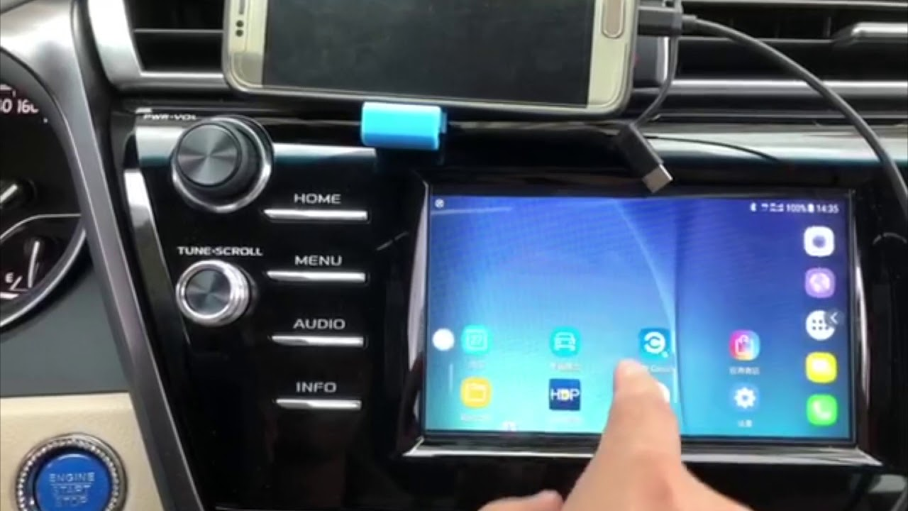 Samsung S6(Android7 0 0) Mirrorlink to 2018 toyota Camry entune3 0 (not  need root)