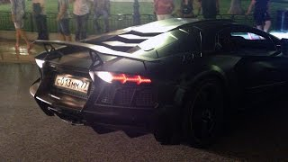 Timati's Lamborghini Mansory Aventador LP1600-4 Carbonado GT in Monaco!