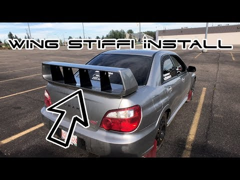 perrin wing stabilizer install youtube