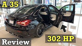 2020 Mercedes-AMG A 35 4MATIC Sedan   A-Class AMG A 35 REVIEW