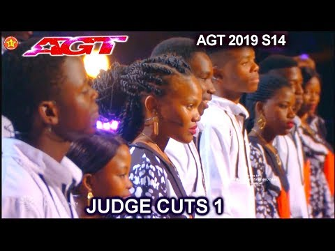 "Ndlovu Youth Choir from South Africa ""Waka Waka"" AWESOME 
