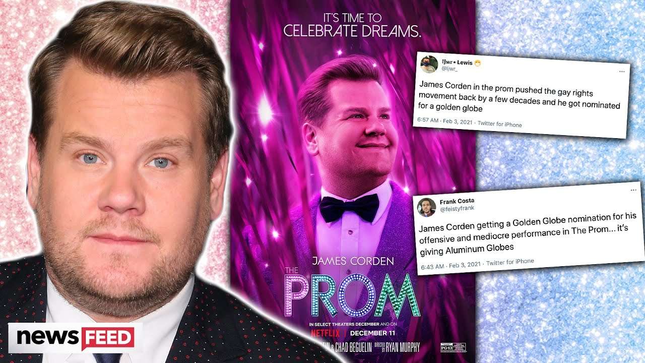 James Corden's Golden Globe Nomination Controversy; He's Just Not Gay Enough