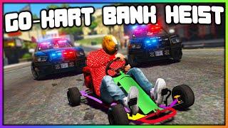 GTA 5 Roleplay - GO-KART ROBBING BANKS (HUGE BATTLE) | RedlineRP