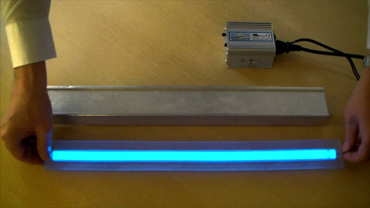 LumaGrip™ Anti Slip Illuminated Stair Tread With Light Tape®.mov