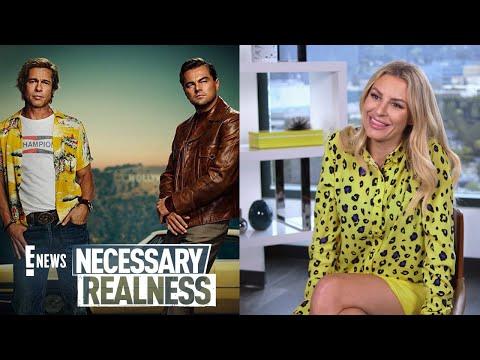 Necessary Realness: Brad Pitt & Leonardo DiCaprio Photoshopped on Film Poster?!   E! News