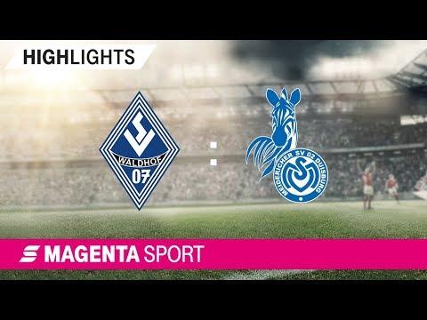 SV Waldhof Mannheim - MSV Duisburg | Spieltag 6, 19/20 | MAGENTA SPORT