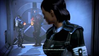 Mass Effect 3 Citadel DLC - Toothbrush saves the day