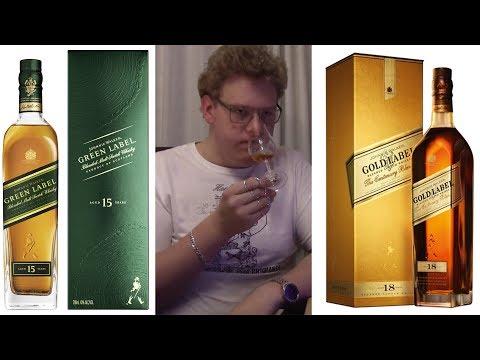 (English) Jonnie Walker: Gold vs Green Label (Blend Comparison)
