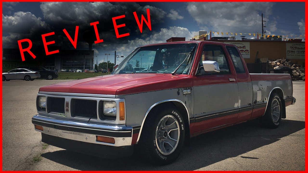 1988 Chevy S10 Review - YouTube