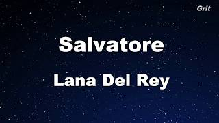 Salvatore - Lana Del Rey Karaoke【No Guide Melody】