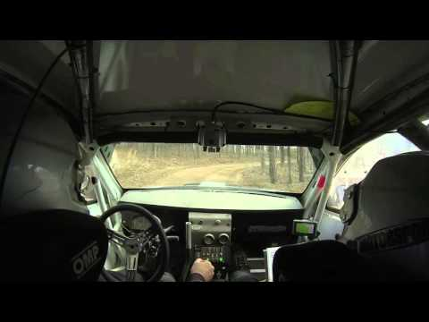 100AW Rally 31 Motorsports SS14 Water Damage In Car Video