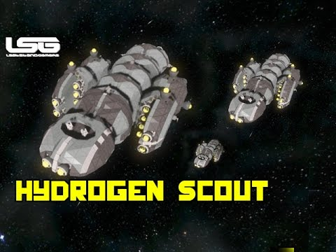 Space Engineers - Everon Hydrogen Scout Ship