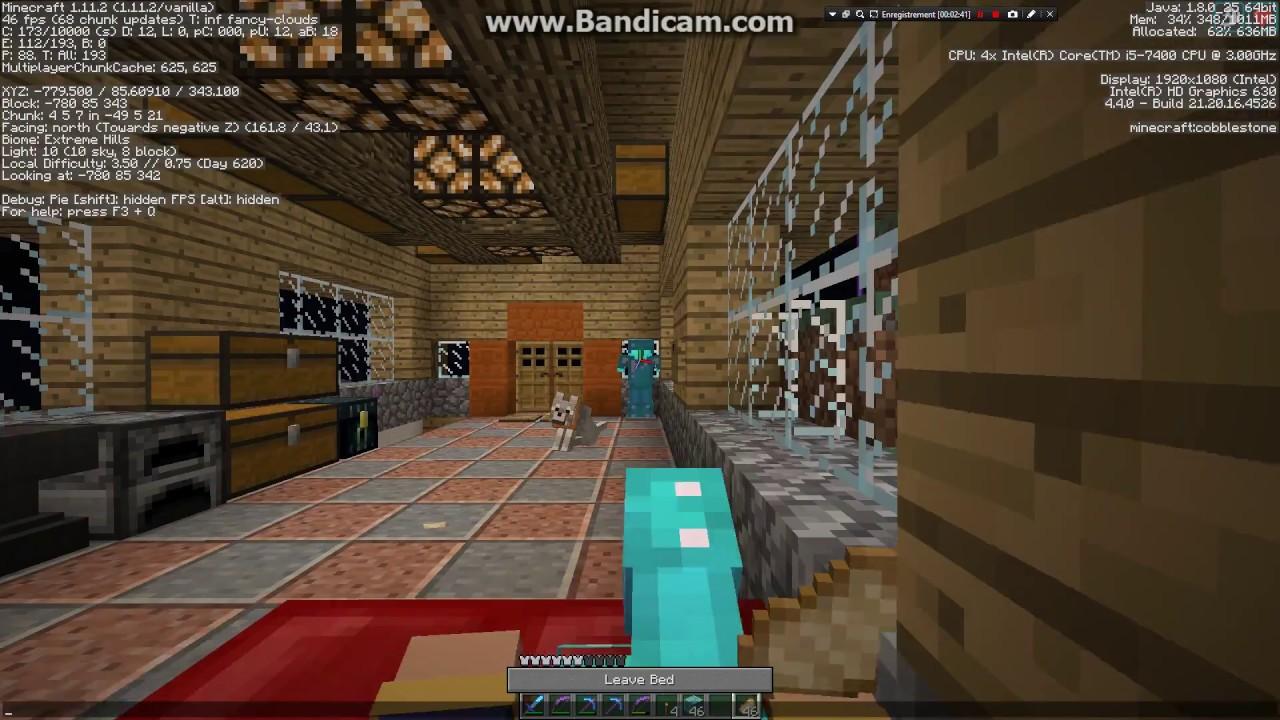 i5-7400 HD Graphics 630 Minecraft