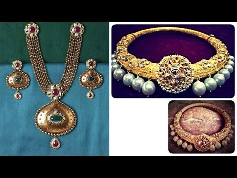 Gold Antique Jewellery Designs 2018