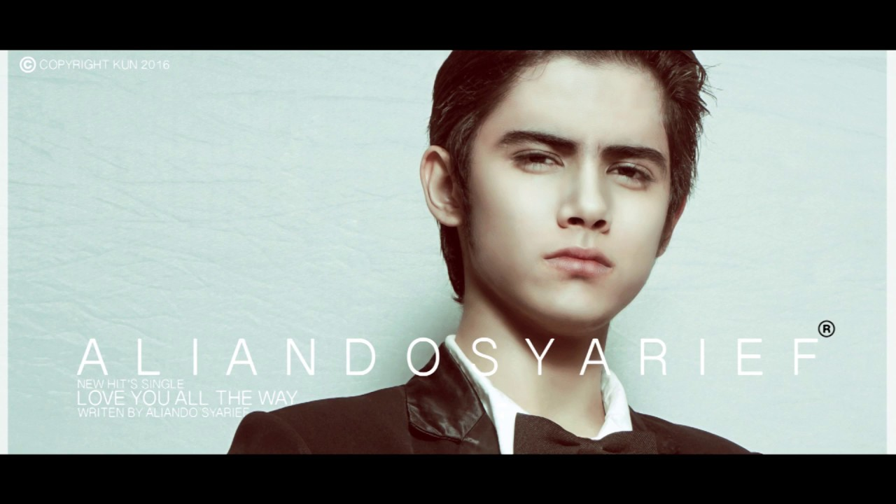 Aliando syarief love you all the way lyric video youtube reheart Choice Image