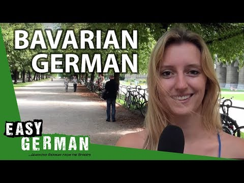 Bavarian German Vs. Standard German (Easy German Pronunciation)