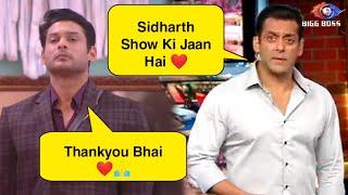 Bigg Boss 13: Weekend Ka Vaar | Sidharth Shukla is BACKBONE OF THE SHOW says Salman Khan