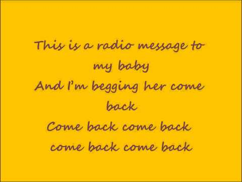 Radio Message - R. Kelly [OFFICIAL LYRICS]
