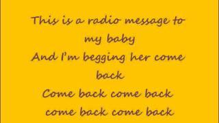Radio Message - R. Kelly [OFFICIAL LYRICS]
