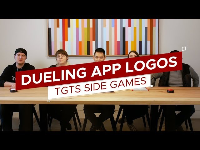 Guess the App Logos | Game: Dueling Logos | TGTS Side Games #4