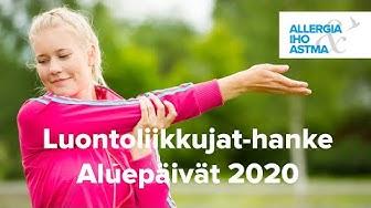 Luontoliikkujat-esitys Aluepäivat 2020