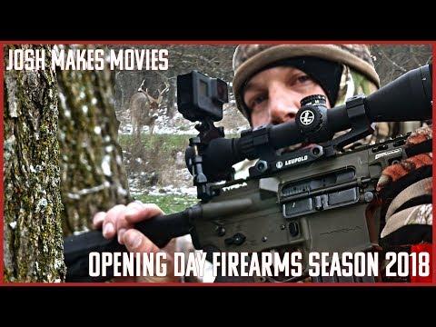 Opening Day 2018 Michigan Deer Hunting Firearms Season!