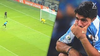 Decisive Penalty Misses by Famous Players 2019