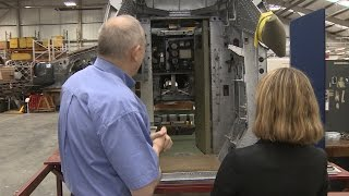 Private Tour Of A Fallen WW2 Bomber   Forces TV