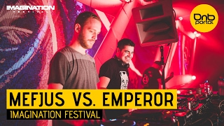 Mefjus VS. Emperor - Imagination Festival 2016 [DnBPortal.com]